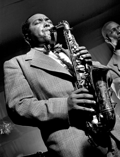 Charlie Parker, NYC, 1949 by Herman Leonard