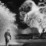 Sebastiao Salgado, Fireball, Greater Burhan Oil Field, Kuait, 1991