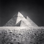 Giza Pyramid, Study 5, Cairo, 2009 by Michael Kenna