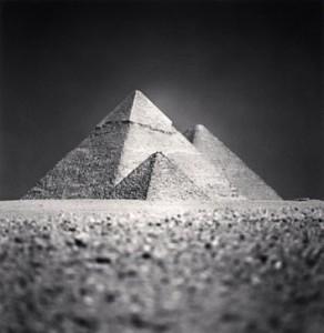 Giza Pyramid, Study 5, Cairo, 2009 by Michael Kenna