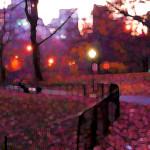 Max Singer, Lovers Stroll, Central Park 2006