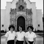 Catholic School Girls, St. Leo the Great Church, 1978 by Owen F. Murphy, Jr