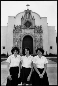 Catholic School Girls, St. Leo the Great Church, 1978 by Owen F. Murphy, Jr