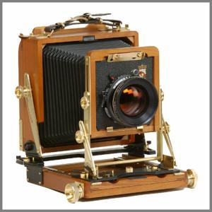 Wista 4x5 view camera