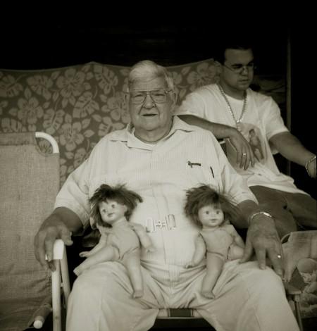 Renee Allie: Holding Dolls