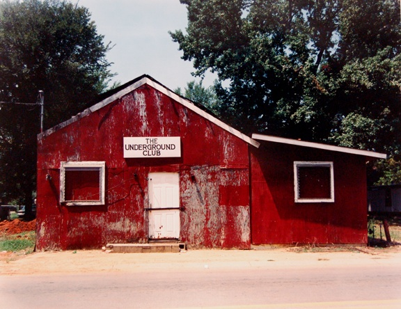 William Christenberry: The Underground Club, Greensboro, Alabama, 1997