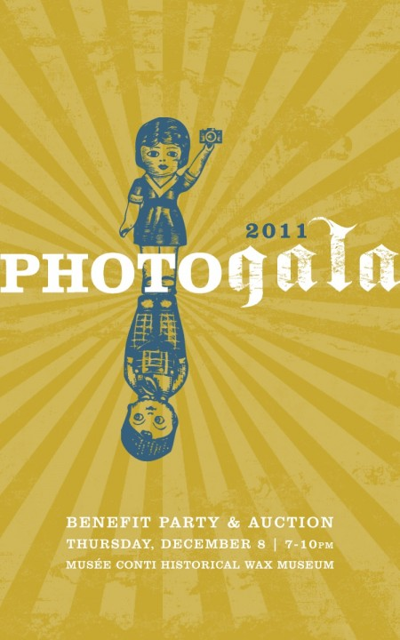 PhotoNOLA 2011 GALA Invite Front