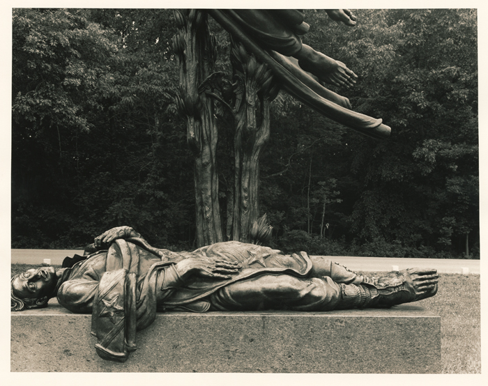 Dead Soldier Monument, Gettysburg; 1994; photograph by A. J. Meek; The Historic New Orleans Collection, gift of A. J. Meek, 2013.0022.6.79