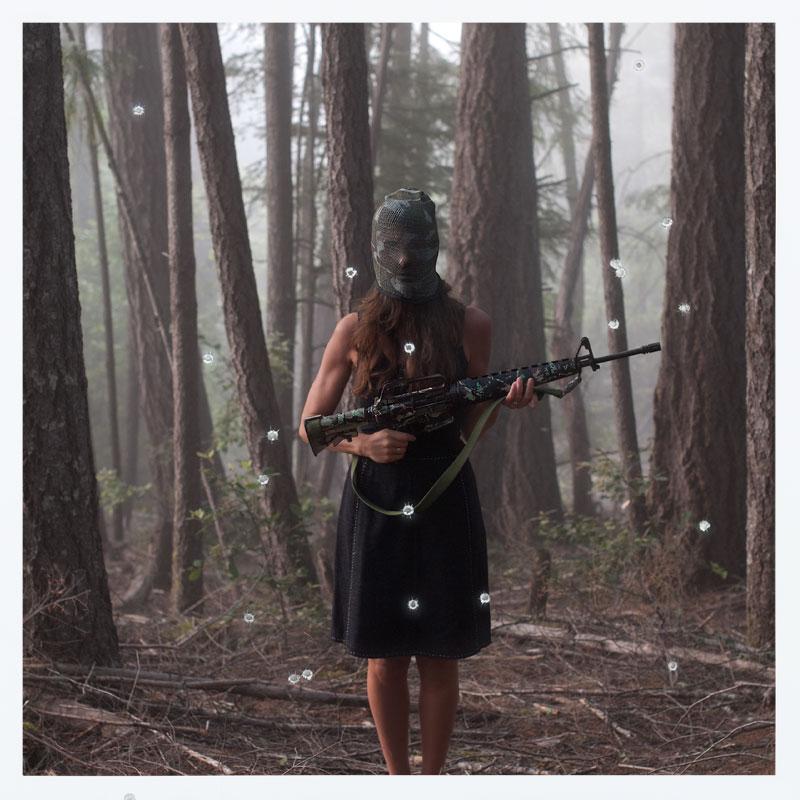Heidi Lender - Machine Gun, from the Loaded series