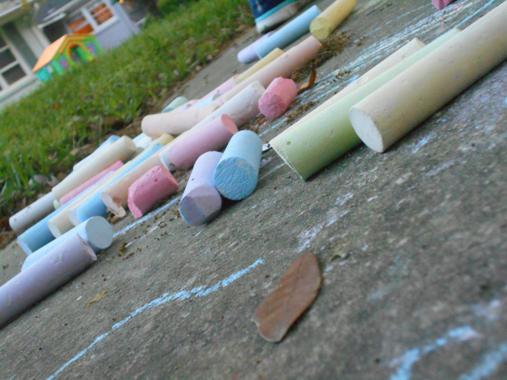 """""""Chalk"""" - by Jenna, 15 years old"""