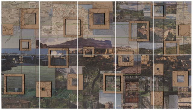 Jill Stoll - Area of Detail, Travel Postcards, 2014