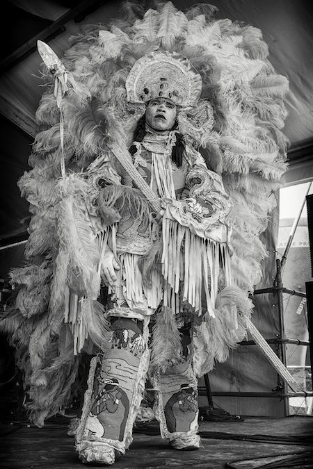 Skip Bolen - Mardi Gras Indian, 2013