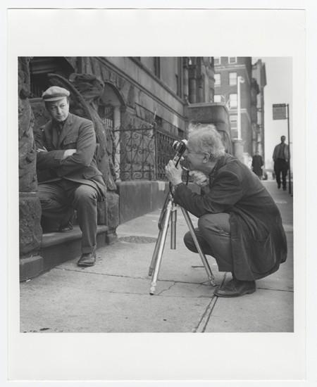 Clarence John Laughlin photographing Jonathan Williams (1929-2008