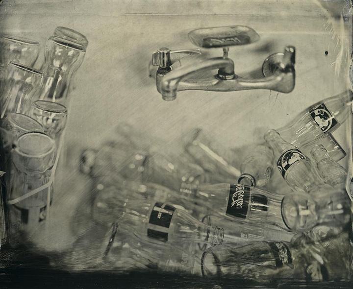 Frank Hamrick - Coke Bottles in the Sink
