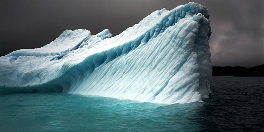 Camille Seaman - Breaching Iceberg, Greenland 2008