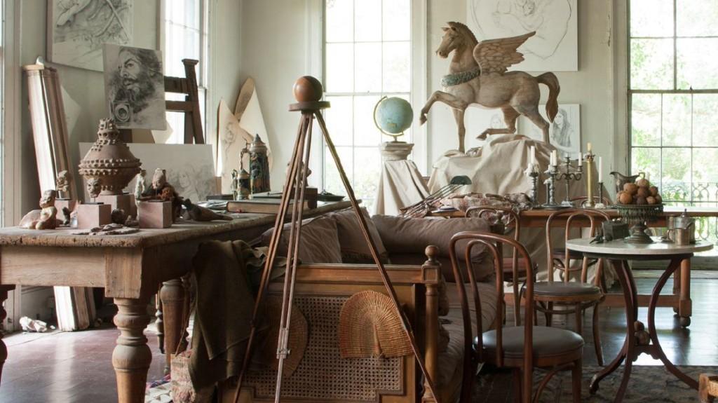 Tina Freeman - George Dureau's Studio