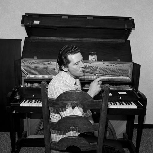 Henry Horenstein - Jerry Lee Lewis, Ramada Inn Boston, Massachusetts