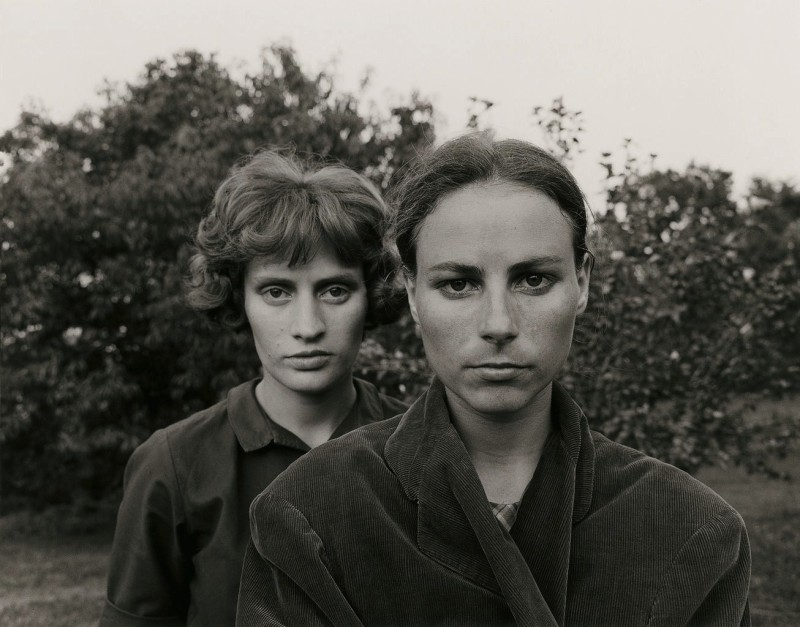 Emmet Gowin - Edith & Ruth, Danville, Virginia 1966
