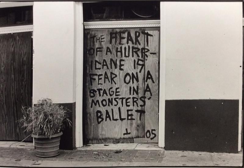 © Joshua Mann Pailet - The Heart, Monster's Ballet, New Orleans - Hurricane Katrina, 2005