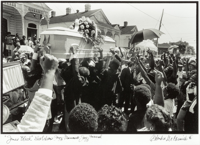 Chandra McCormick - James Black, New Orleans Jazz Drummer's Jazz Funeral
