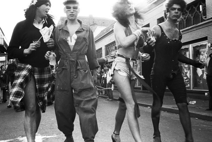 Robbie McClaran - Mardi Gras, New Orleans, 1979 [02]