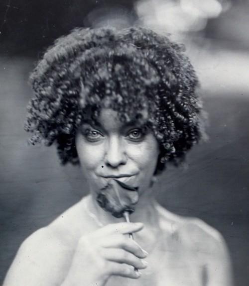 Tintype portrait by Bruce Schultz