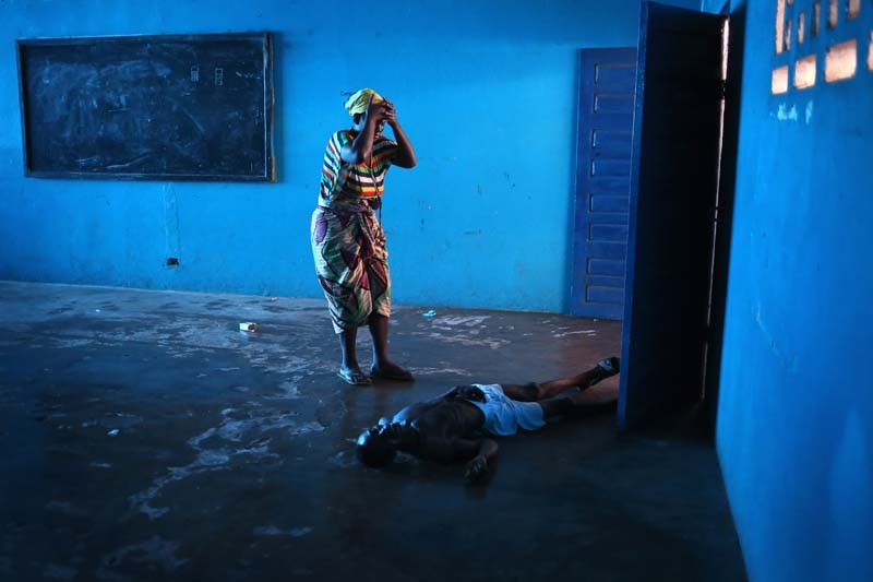 "John Moore/ Getty Images - ""Liberia Ebola"""