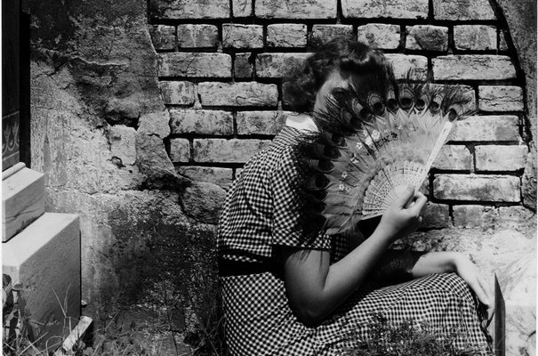 The Peacock Fan, 1940 by Clarence John Laughlin © The Historic New Orleans Collection. Accession number 1981.247.1.615.