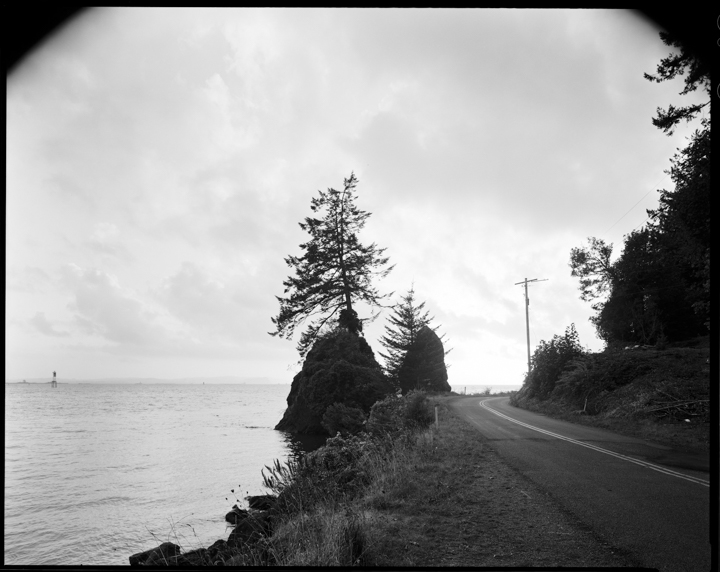 Robbie McClaran - Looking West From Near Altoona, Washington - 2015