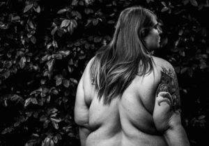 Samantha Geballe - Back, from the series Self-Untitled