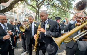 Matthew Hinton - Dolores Marsalis Jazz Funeral | Street Culture to Global News | The New Orleans Advocate | PhotoNOLA 2017