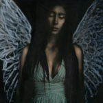 Laura Burlton - Maddie Angel Icon Blue, from Cirque de La Lune   Murmuration of Lights   PhotoNOLA 2017