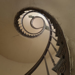 Richard Sexton - Spiral Staircase | 2017 Collectors Club Print