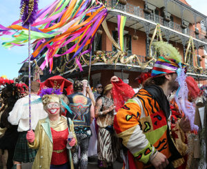Barry Muniz: Saint Anne Walking Krewe Mardi Gras