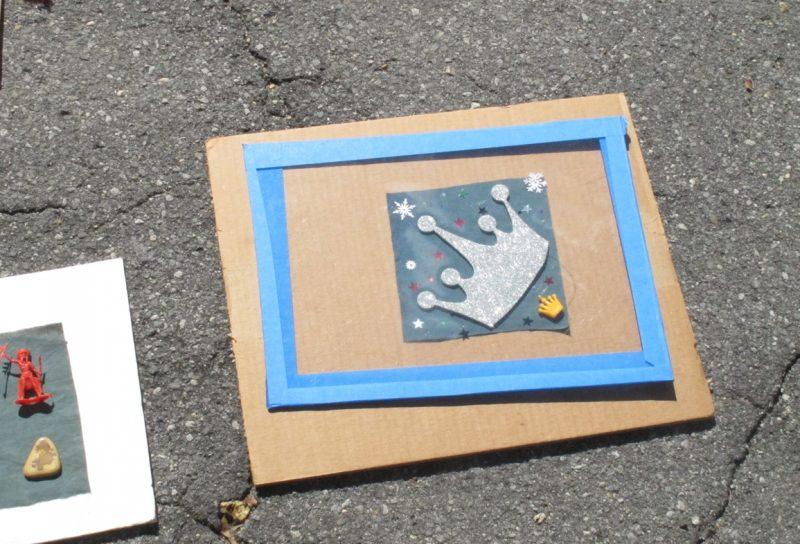 Cyanotype in progress | Sun Print