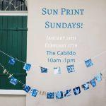 Sun Print Sundays at The Cabildo