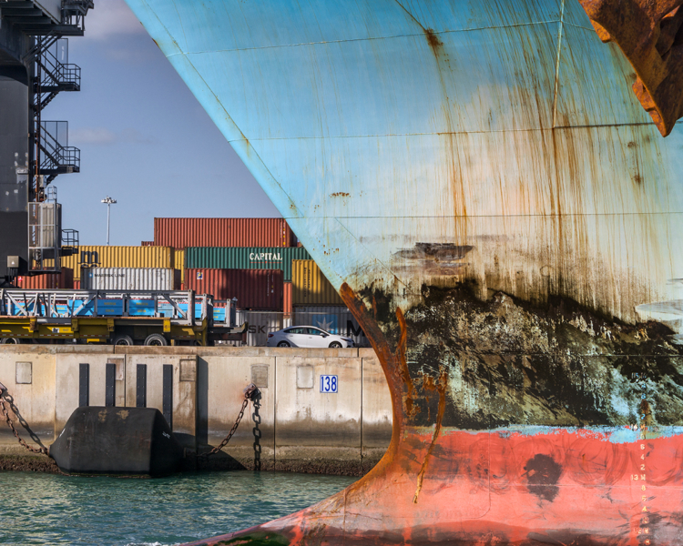 Port of Miami, Florida ©Anastasia Samoylova, recipient of New Orleans Photo Alliance's 2018 Michael P. Smith Grant for her project Flood Zone