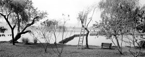 Ladder in Hangzhou by ©Lois Conner