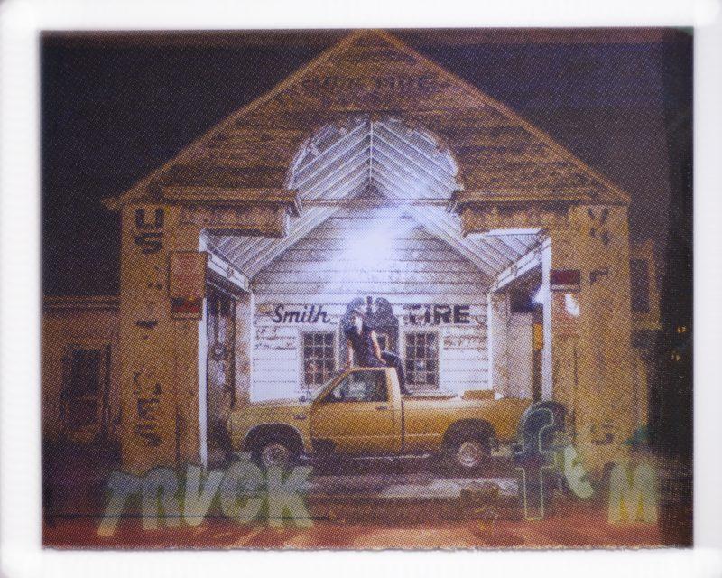 Meg Turner - truckfem silkscreen - from Here and Now