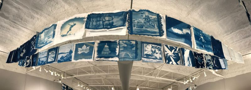 Land/ Sea/ Sky - World Cyanotype Day 2019 | A Smith Gallery