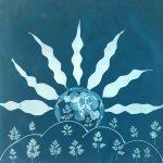 JM Golding - Cyanotype on fabric